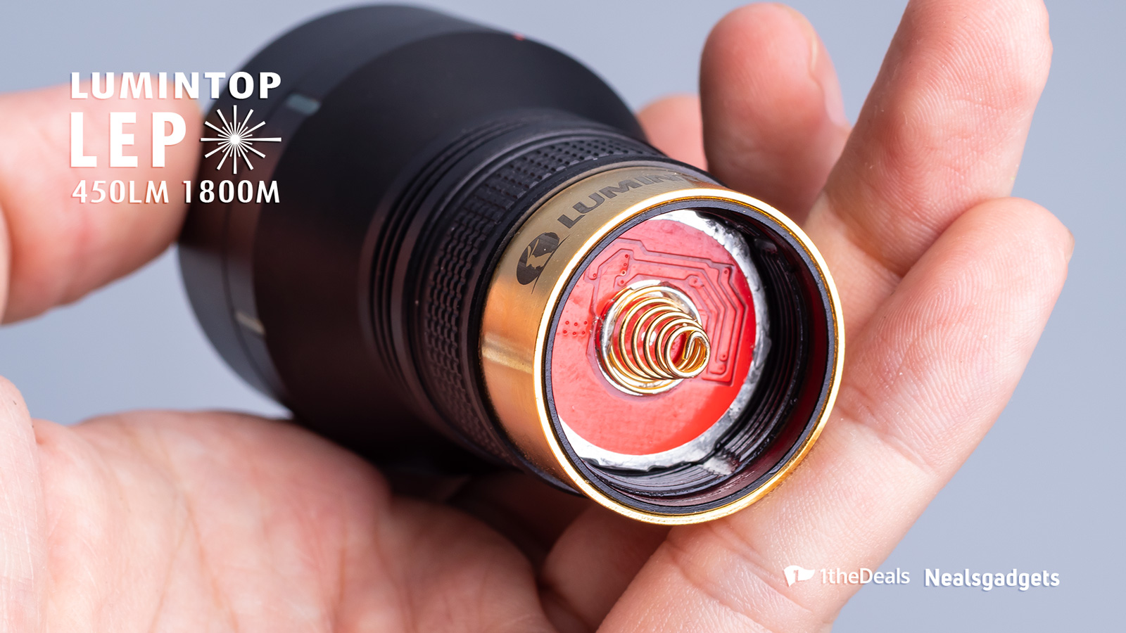 Lumintop LEP Prototype Image